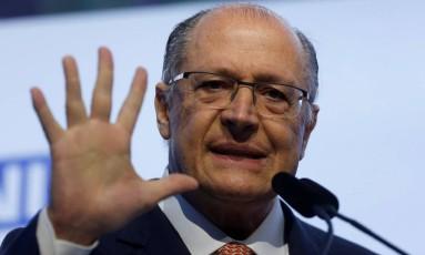 O pré-candidato tucano à Presidência, Geraldo Alckmin 04/07/2018 Foto: ADRIANO MACHADO / REUTERS