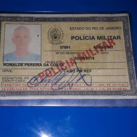 Cabo da PM reformado morreu após ser baleado em Irajá Foto: Reprodução