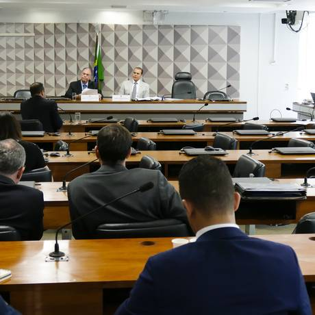 Última sessão da CPI dos Cartões de Crédito Foto: Roque de Sá/Agência Senado