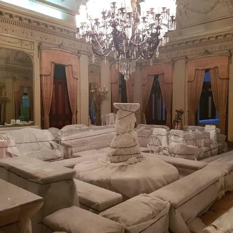 Palácio Itamaraty será reaberto em dezembro, após obras da Linha 3 do VLT Foto: Caio Barretto / Agência O Globo