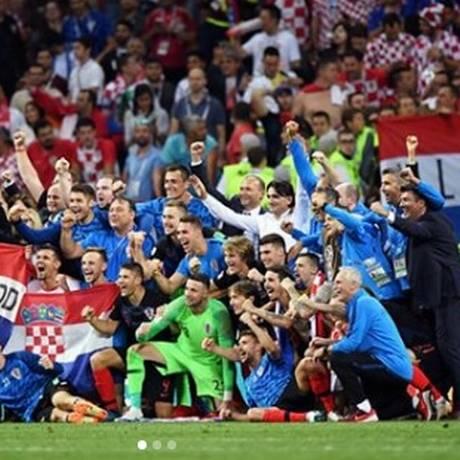 Rivaldo parabeniza seleção da Croácia Foto: Reprodução