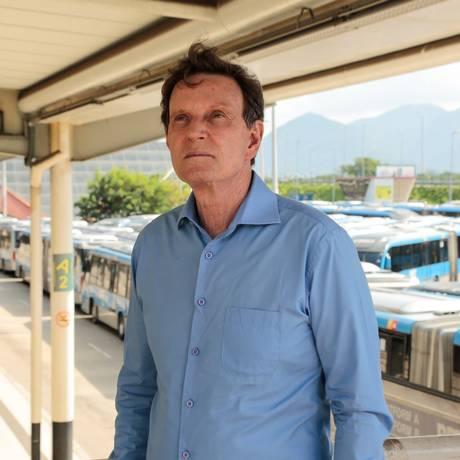 MPRJ afirma que Crivella se aproveita do cargo para afrontar imparcialidade do estado laico Foto: Brenno Carvalho / Agência O Globo/ 26/05/2018