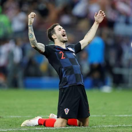 Vrsaljko não economizou nas provocações aos ingleses Foto: DARREN STAPLES / REUTERS