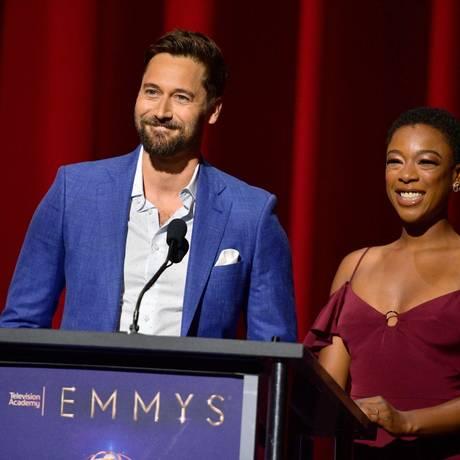 Anúncio dos indicados ao Emmy 2018 Foto: Matt Winkelmeyer / AFP