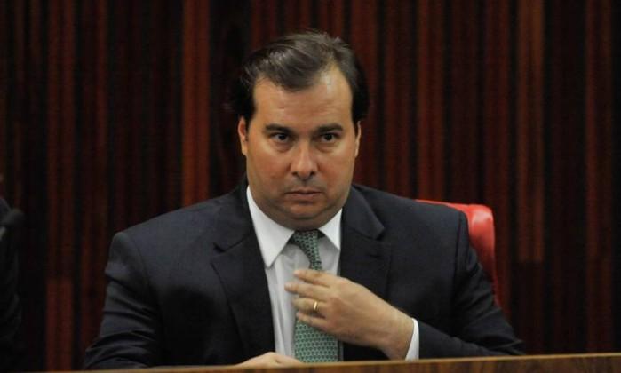 O presidente da Câmara Rodrigo Maia Foto: Fabio Rodrigues Pozzebom / Agência Brasil