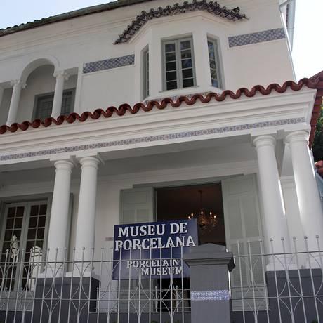 Museu de Porcelana de Petrópolis, na Região Serrana do Rio Foto: Divulgação