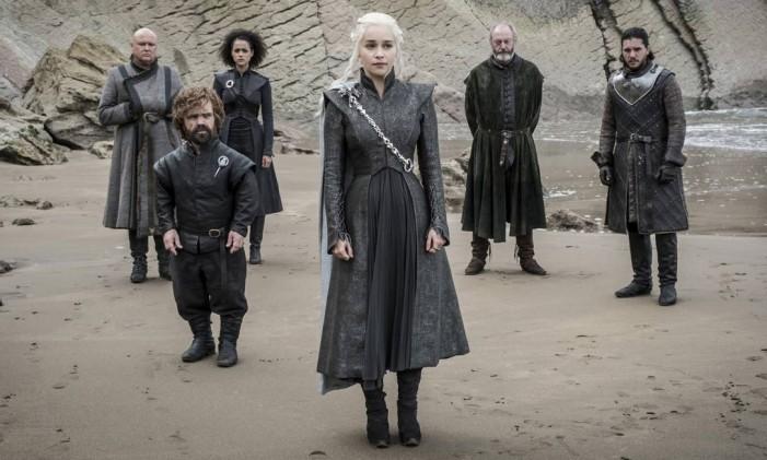 Parte do elenco de 'Game of Thrones': série retorna ao páreo do Emmy como líder de indicações Foto: AP