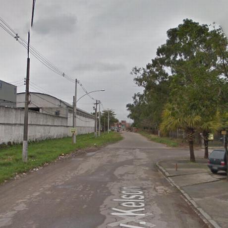 Entrada da comunidade Kelson's na Zona Norte do Rio Foto: Reprodução/Google Street View