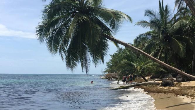 Punta uva. Praia de areia branca e águas cristalinas é uma das mais movimentadas do Caribe Sul Foto: Gabriel Menezes / fotos de gabriel menezes