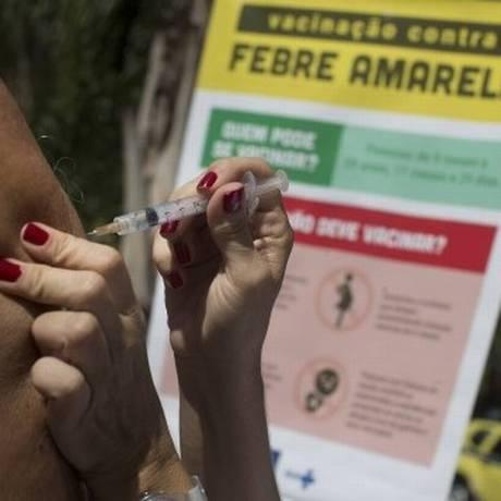 Em todo estado do Rio, já são 85 casos de morte por febre amarela em 2018 Foto: Márcia Foletto
