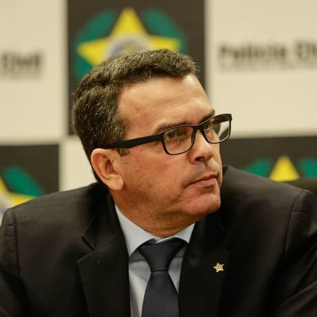 Rivaldo Barbosa e outros quatro delegados foram denunciados por crimes contra a Lei de Licitações Foto: Brenno Carvalho / Agência O Globo