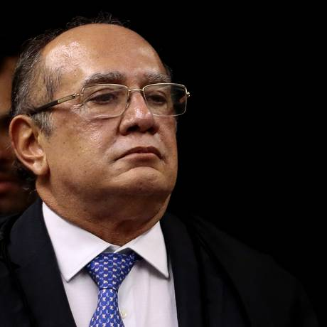 O ministro Gilmar Mendes, durante sessão da Segunda Turma do STF Foto: Jorge William/Agência O Globo/19-06-2018