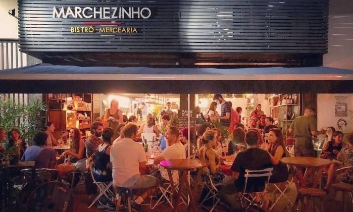 Marchezinho é point em Botafogo Foto: Divulgação