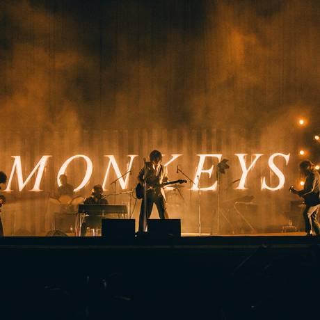 Arctic Monkeys no festival português Nos Alive Foto: Arlindo Camacho / Divulgação