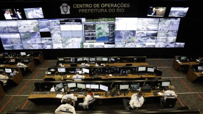 Centro de Operações Rio: ex-chefe-executivo afirma que principal ferramenta está inoperante Foto: Arquivo / 08/06/2018 / Gabriel de Paiva / Agência O Globo