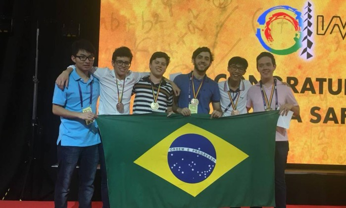 Brazilian wins gold medal at the International Mathematical Olympiad