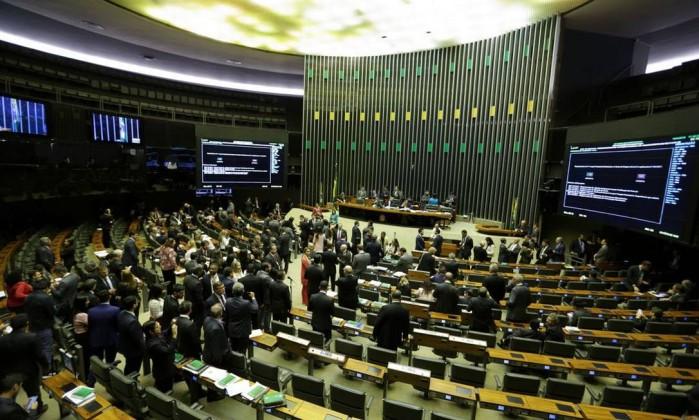 O plenário da Câmara Foto: Fabio Rodrigues Pozzebom / Agência Brasil