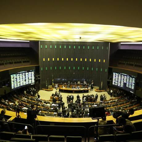 Sessão do Congresso discute a Lei de Diretrizes Orçamentárias Foto: Ailton de Freitas/Agência O Globo/11-07-2018