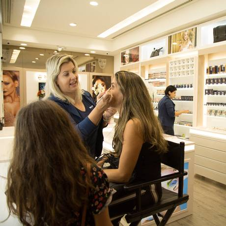 A loja inaugurada no BarraShopping em 5 de julho Foto: Emily Almeida / Agência O Globo