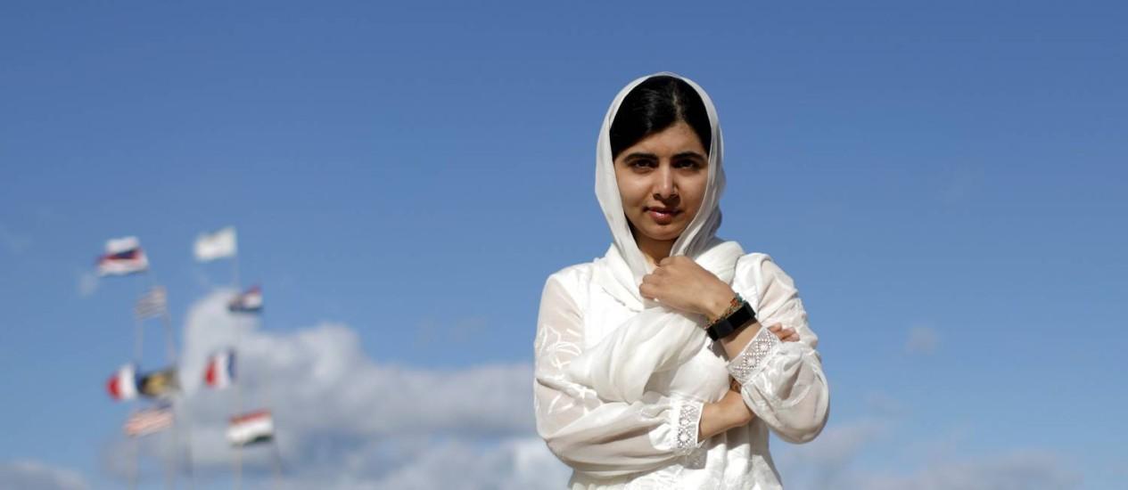 Resultado de imagem para 'Eu me inspiro nas brasileiras que conheci', diz Malala Yousafzai