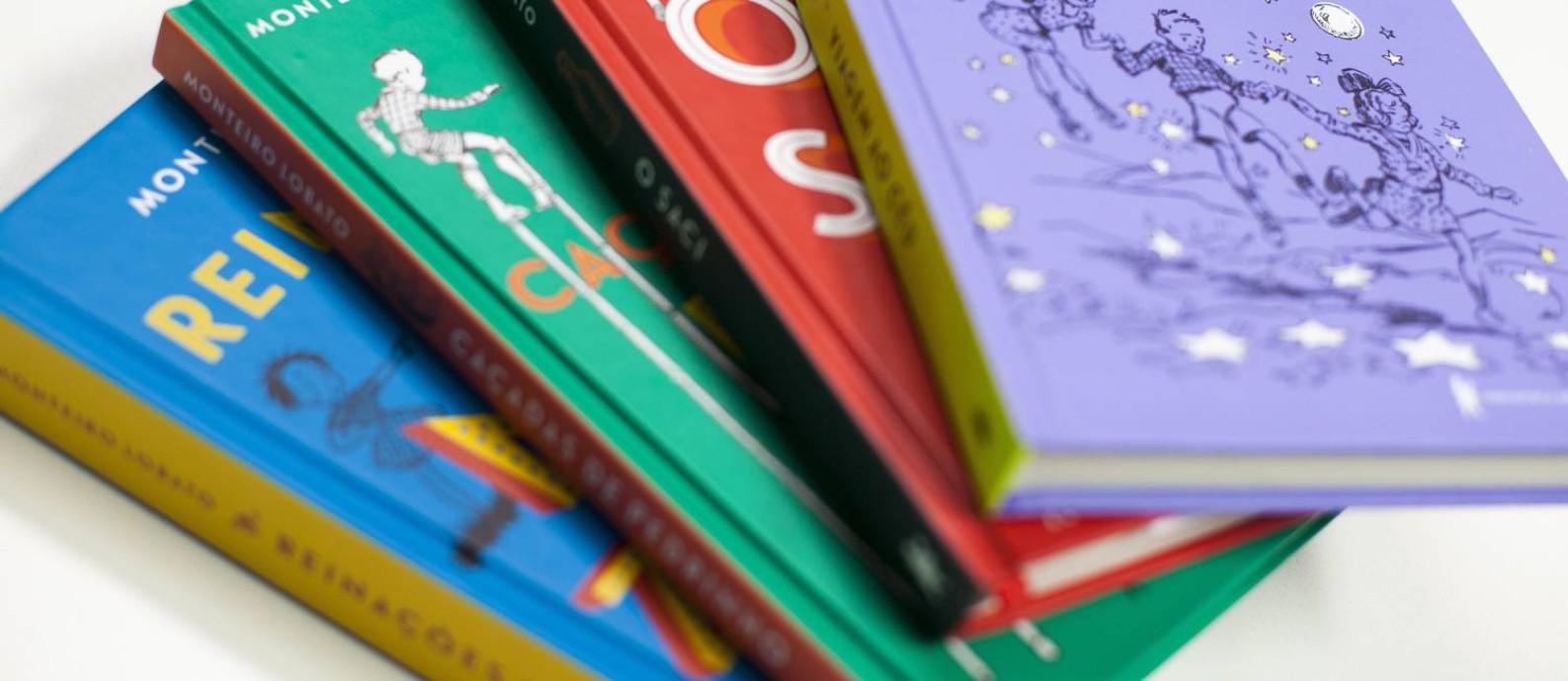 a15ed09342 Novas edições da obra de Monteiro Lobato Foto  Gabriel Monteiro   Agência O  Globo