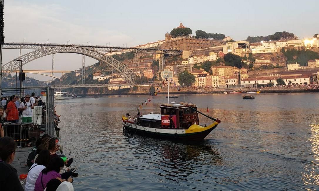 Porto. A beleza e segurança na cidade ao Norte a tornam um destinos preferidos para turismo e para investir Foto: Bruno Rosa
