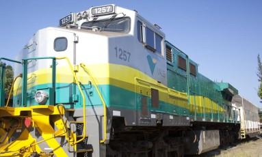 Trem que opera na Estrada de Ferro Vitória-Minas Foto: Photographer: / Divulgação