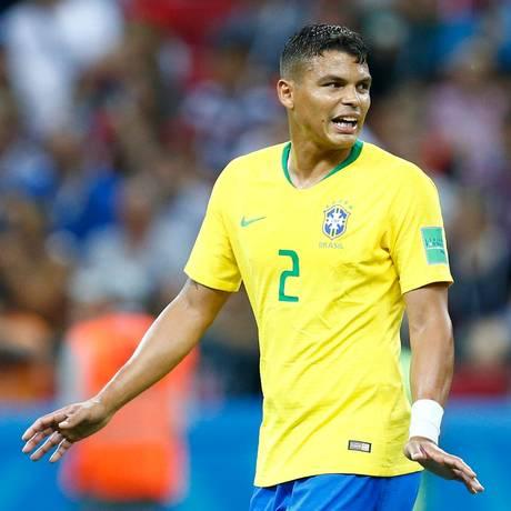 Thiago Silva, zagueiro do Brasil Foto: BENJAMIN CREMEL / AFP