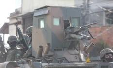 Forças Armadas em Operação no Salgueiro em novembro de 2017 Foto: Fabiano Rocha / Fabiano Rocha