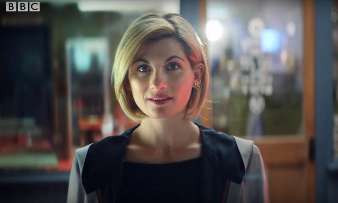 Jodie Whittaker no teaser de 'Doctor Who', da BBC Foto: Divulgação