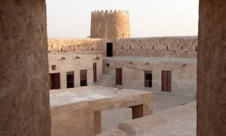 Forte de Al Zubarah, um dos sítios arqueológicos mais importantes do Qatar Foto: Visit Qatar / Divulgação