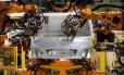 Fábrica de veículos: produção de automóveis voltou a crescer em junho Foto: Guilherme Leporace / O GLOBO