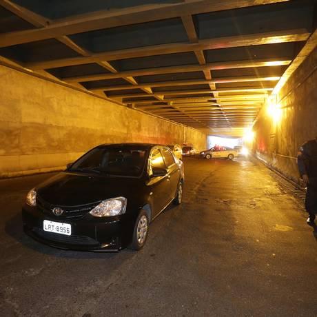 Rubens Mesquita Alves morreu após ser baleado na manhã da última sexta-feira, no túnel Noel Rosa, em Vila Isabel Foto: Marcio Alves / Agência O Globo