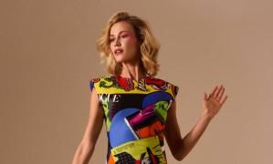 Renata usa vestido Versace e sandálias Ellus. Styling: Ana Parisi. Beleza: Teo Miranda. Tratamento de imagem: Geberson Marques Foto: Thais Vandanezi