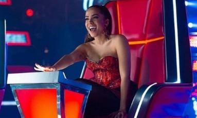 Anitta: estrela brasileira será jurada na versão mexicana do reality 'The voice' Foto: Divulgação