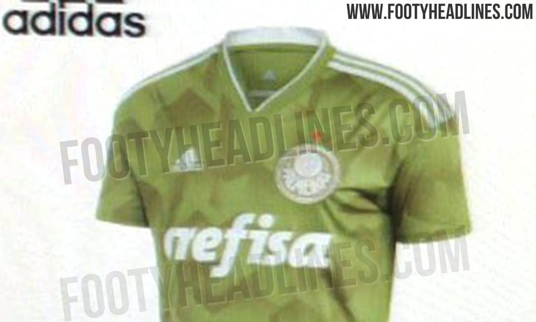 Site vaza imagens de suposta terceira camisa do Palmeiras - Jornal O Globo 12a3b620ecae6