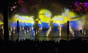 Momento do 'Universal Orlando's Cinematic Celebration', novo show do Universal Studios Florida Foto: Divulgação