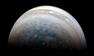 Imagem de Júpiter capturada pela sonda Juno, da Nasa Foto: HANDOUT / NASA