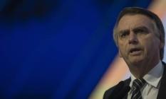 Jair Bolsonaro participa de evento com presidenciáveis na CNI Foto: Daniel Marenco/Agência O Globo/04-07-2018