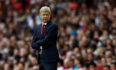 O francês Arsène Wenger foi treinador do Arsenal por 22 anos Foto: Hannah Mckay / Reuters/30-7-2017