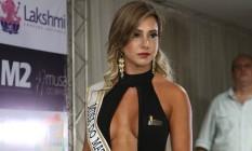 A modelo Raquel dos Santos, de 28 anos, era finalista do concurso Musa do Brasil Foto: Reprodução