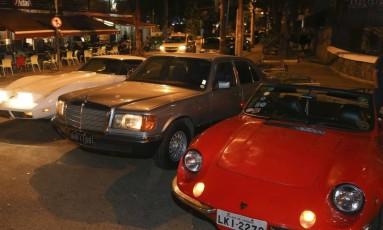 Máquinas. Corvette, Mercedes e Puma estão entre os carros que marcarão presença no evento de sábado Foto: Pedro Teixeira