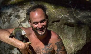Cédric Vacherie, artista plástico francês morto em Paraty Foto: Claire Jean / Divulgação