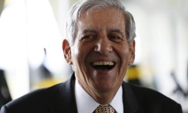 General Augusto Heleno está cotado para vice de Bolsonaro. Foto Michel Filho / Agência O Globo Foto: Michel Filho / Agência O Globo