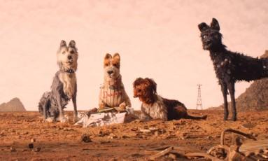 """Cena do filme """"Ilha dos cachorros', de Wes Anderson Foto: Divulgação"""