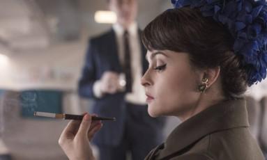 Helena Bonham Carter como princesa Margaret em 'The Crown' Foto: Divulgação