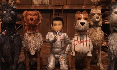 Cena da animação 'Ilha dos cachorros', de Wes Anderson Foto: Divulgação