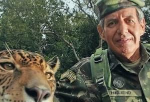 O general da reserva Augusto Heleno Foto: Reprodução