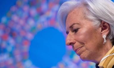 Christine Lagarde, diretora-gerente do Fundo Monetário Internacional (FMI). Foto: Jim Watson/AFP