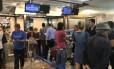 Pelo menos 40 brasileiros estão aguardando voos na Itália Foto: Reprodução/WhatsApp
